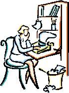 woman writer
