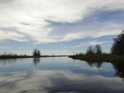 Orange Lake from Cross Creek